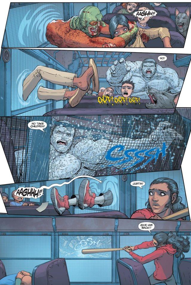 The Cheetah Kills Zombie Mirror Master (DCeased)