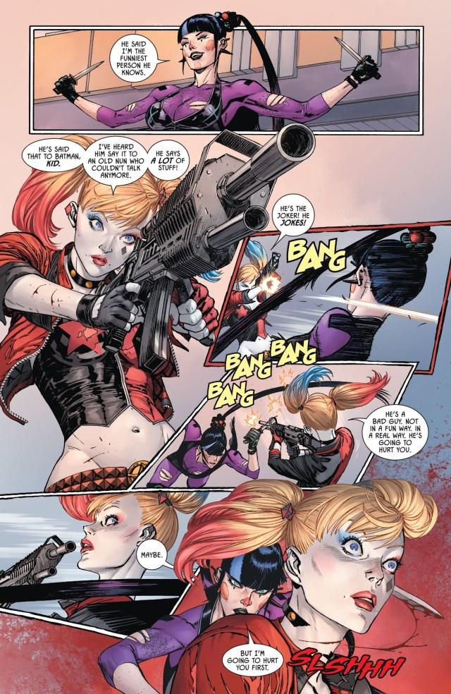 Harley Quinn VS Punchline
