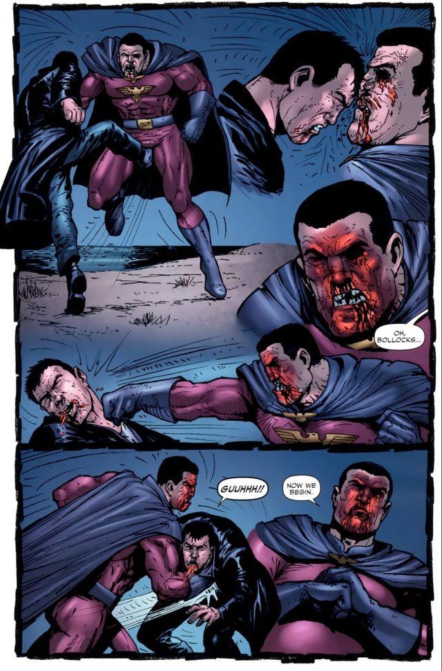 Billy Butcher VS Stormfront