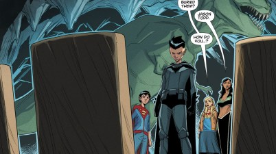 Damian Wayne Mourns His Family (DCeased)