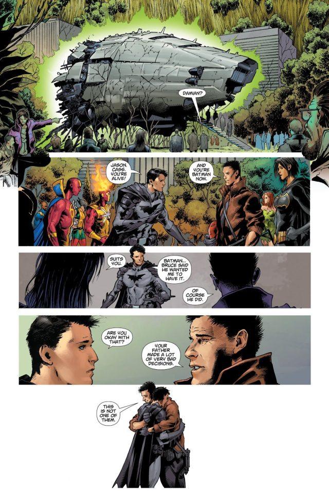 Damian Wayne Reunites With Jason Todd