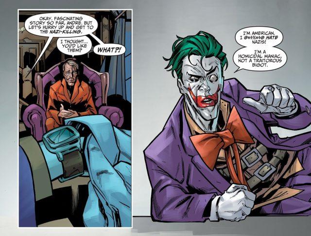 The Joker Hates Nazis (Injustice)
