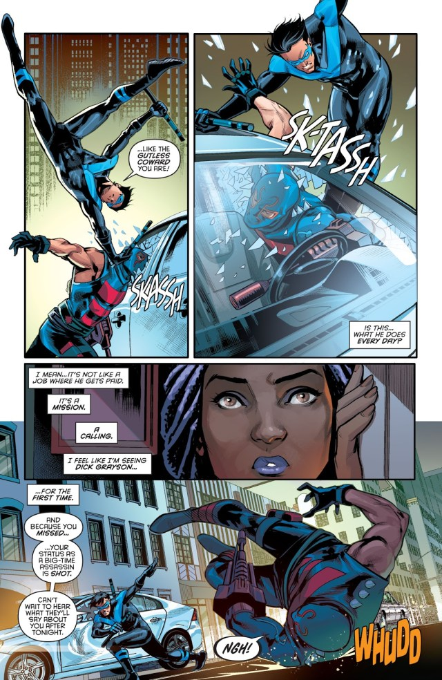 Nightwing VS KGBeast (Rebirth)