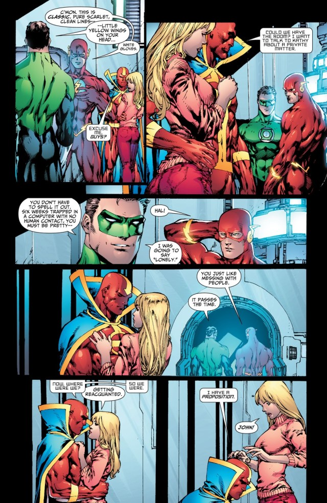 Red Tornado Proposes To His Girlfriend