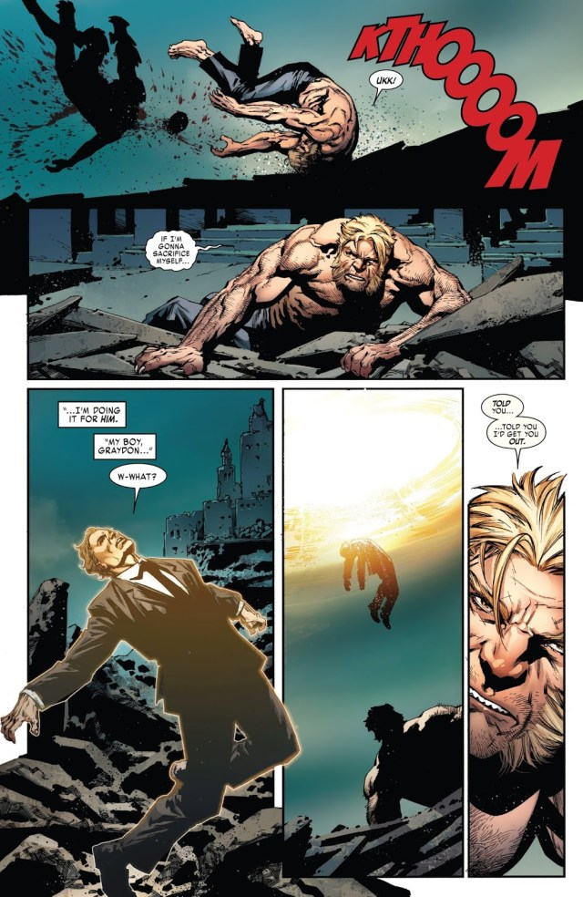 Sabretooth Becomes A Savage Again