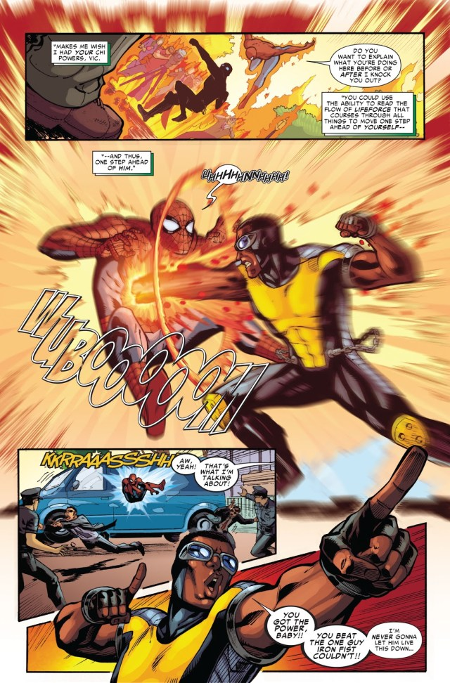 Iron Fist Can't Defeat Spider-Man