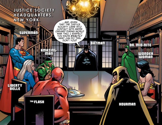 Justice League And Justice Society (Injustice Gods Among Us Year 0 #11)