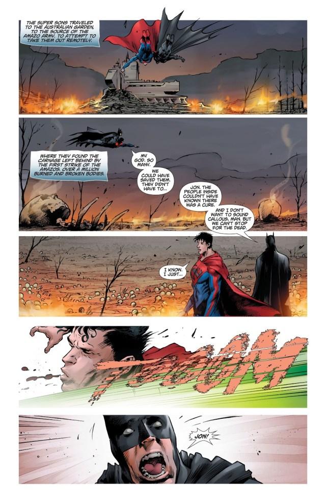 Superman And Batman VS Amazo (DCeased)