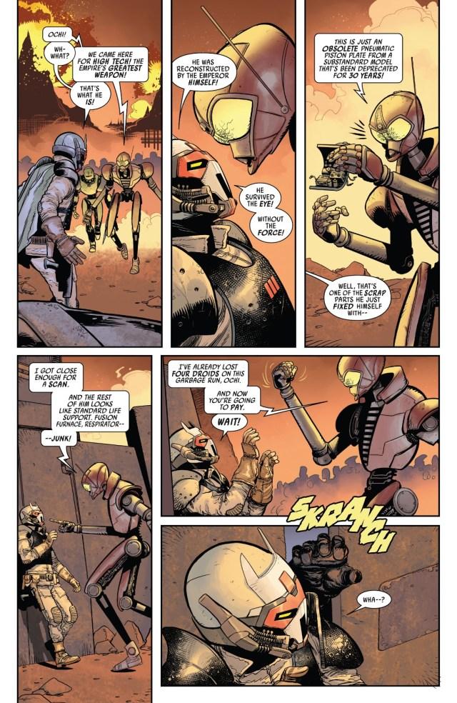 Darth Vader VS The Droid Crush Pirates Of Bestoon