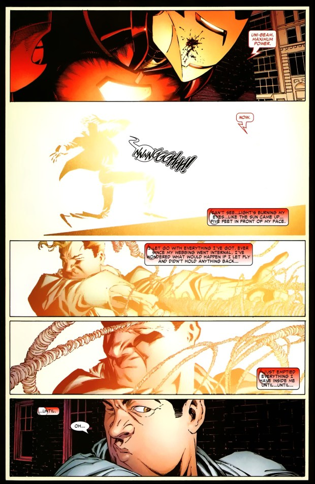 Peter Parker VS Iron Man One More Day Comicnewbies