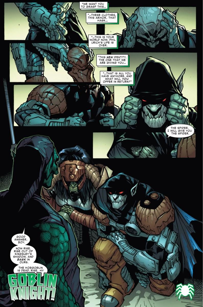The Goblin Knight Comicnewbies