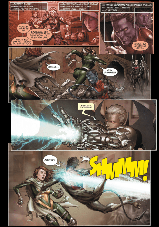 Rogue VS Bastion Second Coming Comicnewbies