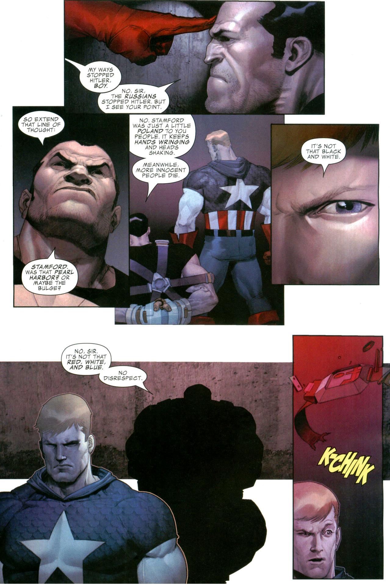 Captain America Recruits The Punisher Civil War