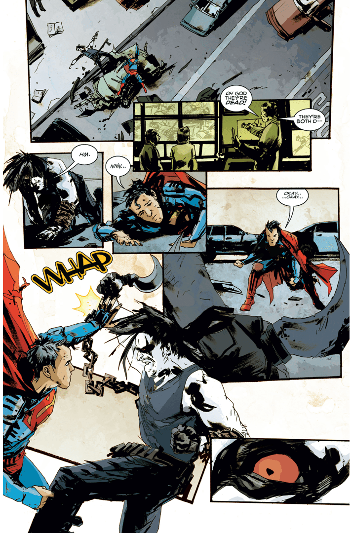 Superman VS Lobo American Alien Comicnewbies