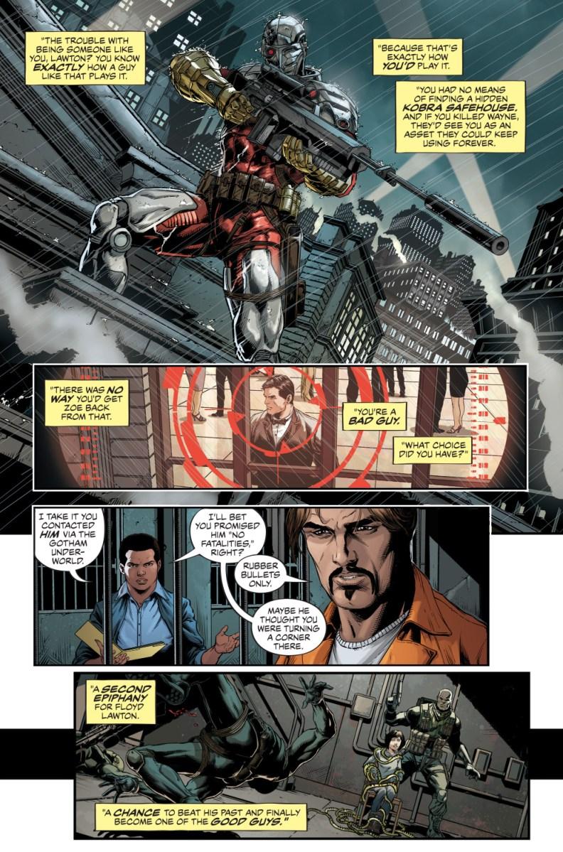 Deadshots Background Story Rebirth Comicnewbies