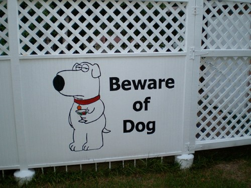 Beware of Dog by Tim Fuller