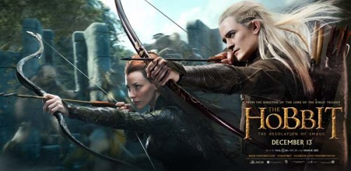The-Hobbit-The-Desolation-of-Smaug-Banner-Tauriel-and-Legolas