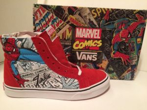 Stan Lee Signed Vans Spider-Man Shoes
