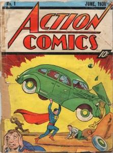 Action Comics 1 Poor Condition