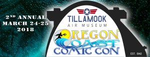 Oregon Coast Comic Con Banner