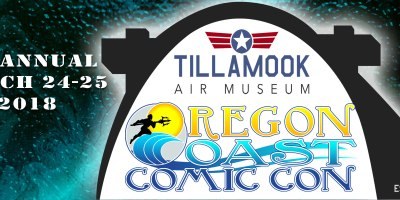 Oregon Coast Comic Con Banner
