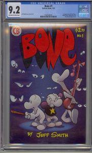 Bone 1 1st Print CGC 9.2