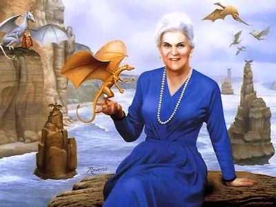 Anne McCaffrey 1926-2011, The Dragon Lady