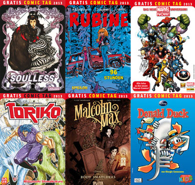 Der Gratis Comic Tag 2013 Teil 3 von 4