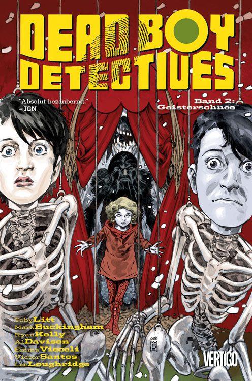 CRFF155 – Dead Boy Detectives: Bd. 2: Geisterschnee