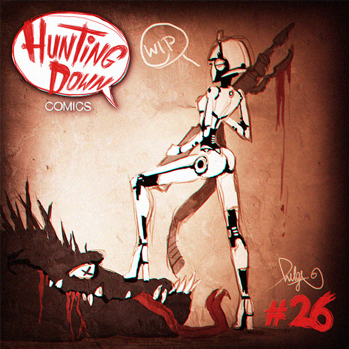 Hunting Down Comics #26