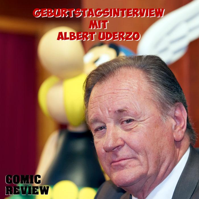 Geburtstagsinterview mit Albert Uderzo