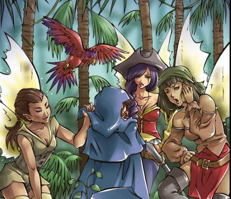 Pirate Fairies by Sissy Pantelis