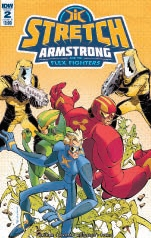 724174_stretch-armstrong-flex-fighters-2-cover-b-koutsis ComicList: IDW Publishing New Releases for 03/07/2018