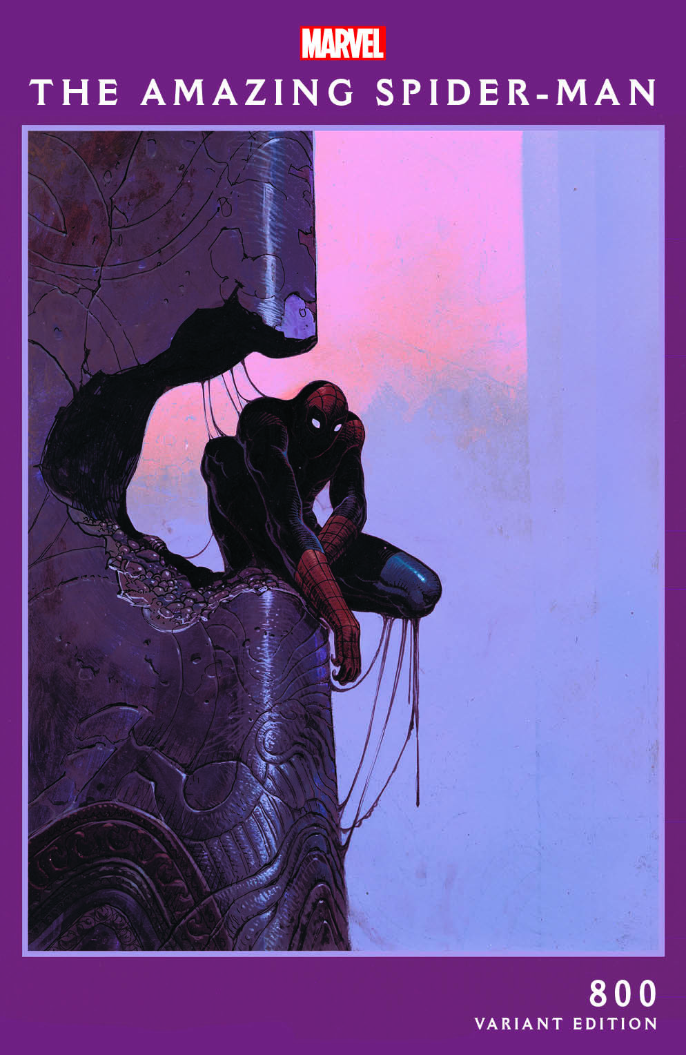 727086_the-amazing-spider-man-800-moebius-variant Moebius celebrates AMAZING SPIDER-MAN's 800th issue with two variants