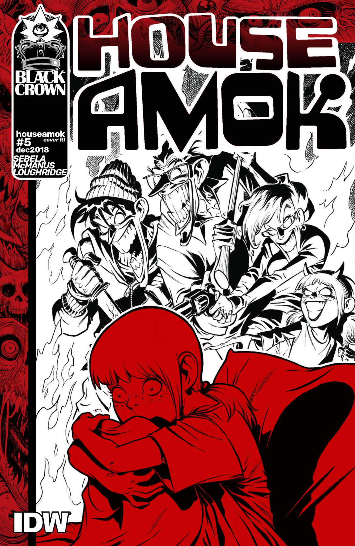 745515_house-amok-5-10-copy-cover-mcmanus ComicList: IDW Publishing New Releases for 03/13/2019