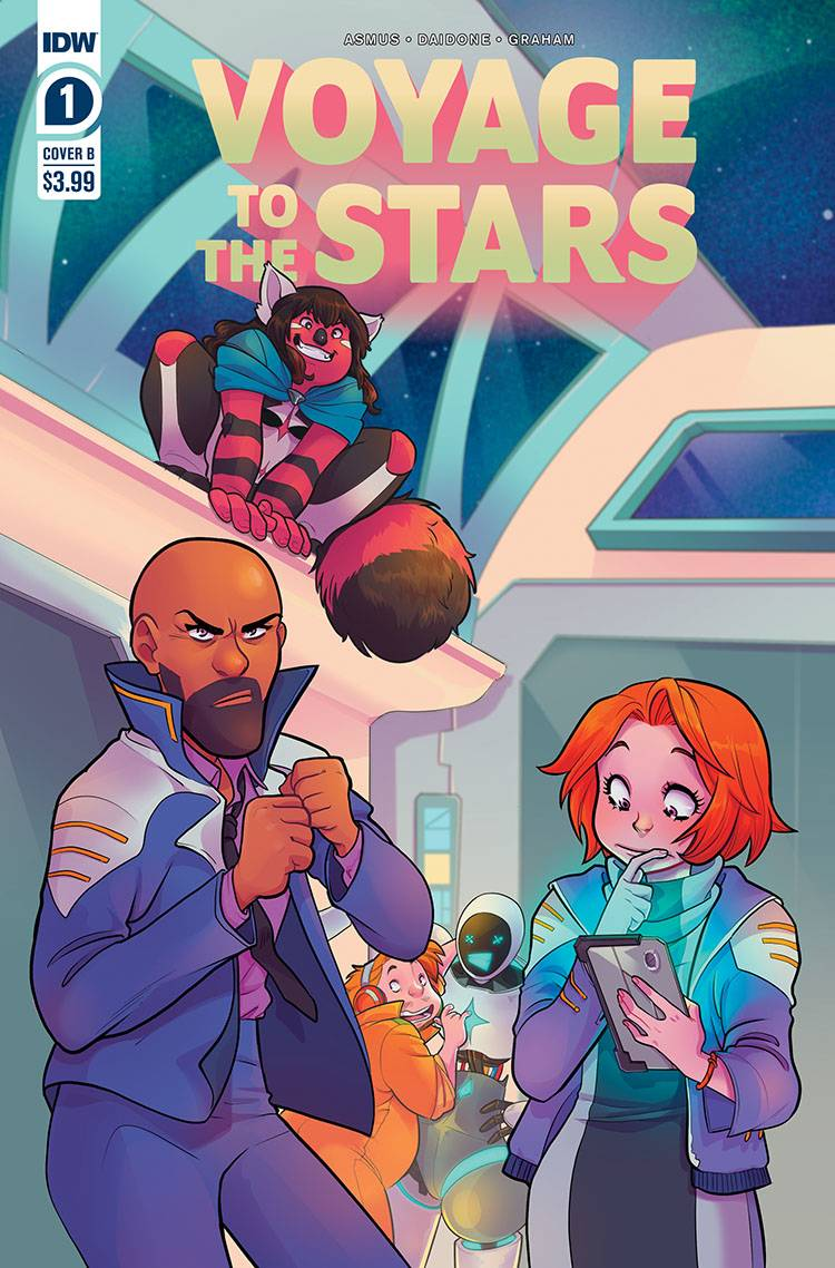 789603_voyage-to-the-stars-1-cover-b-daidone ComicList: IDW Publishing New Releases for 08/19/2020