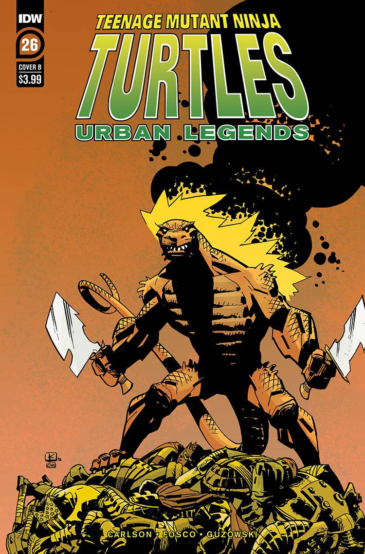 789607_tmnt-urban-legends-26-cover-b-kuhn ComicList: IDW Publishing New Releases for 08/19/2020