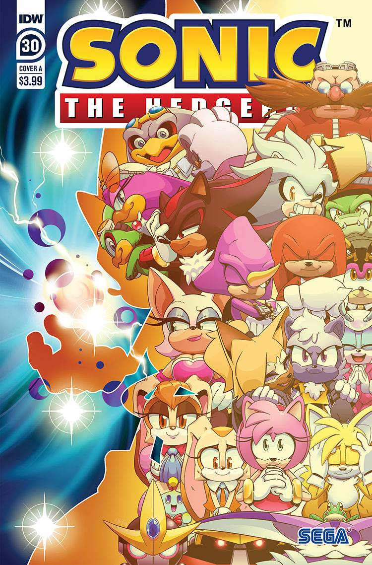 789610_sonic-the-hedgehog-30 ComicList: IDW Publishing New Releases for 08/19/2020
