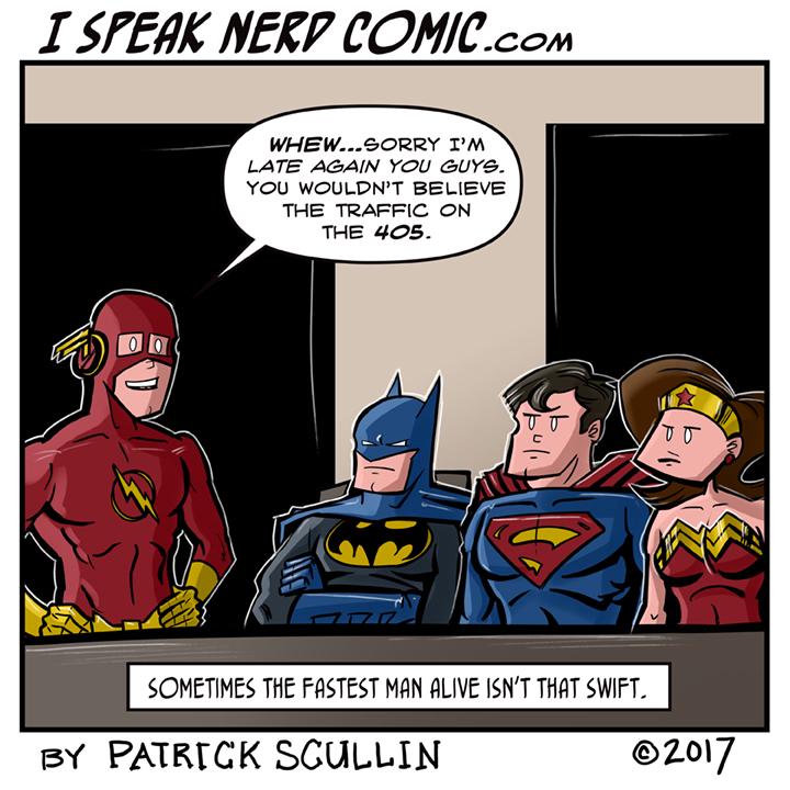 I Speak Nerd Comic Strip Freeway Flash