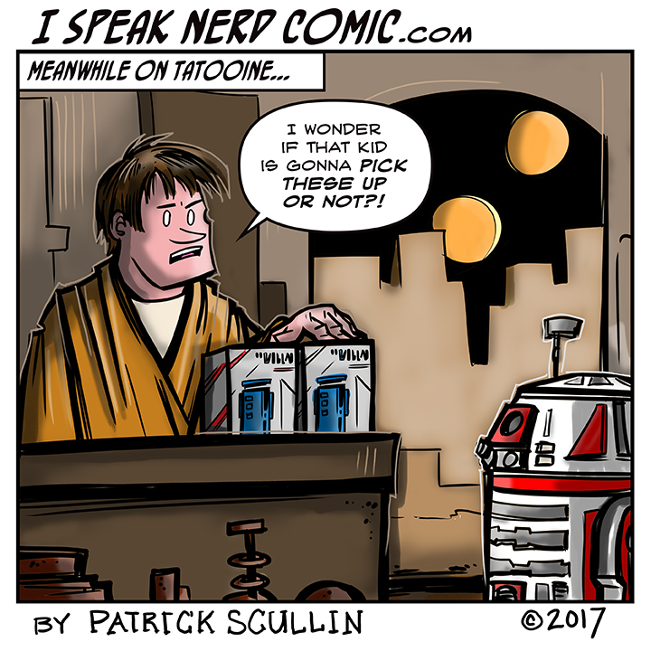 I Speak Nerd Comic Strip Tosche Station