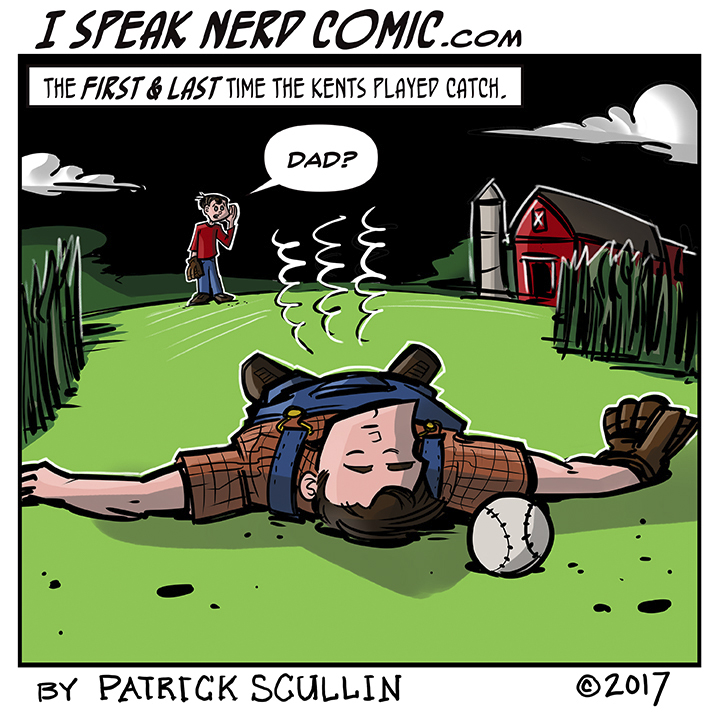 I Speak Nerd Comic Strip Super Game of Catch