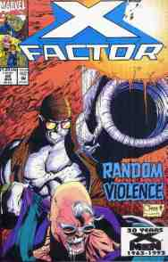 X-Factor comic book cover #88