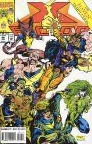 X-Factor comic book cover #98