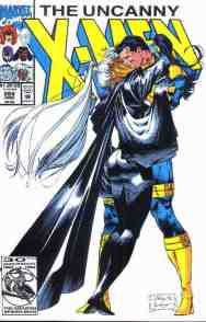 Uncanny X-Men comic book cover #289