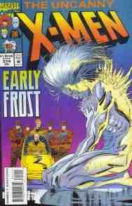 Uncanny X-Men comic book cover #314
