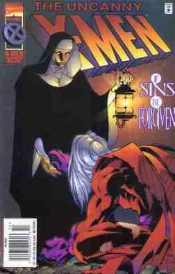 Uncanny X-Men comic book cover #327