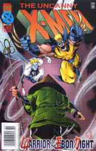 Uncanny X-Men comic book cover #329