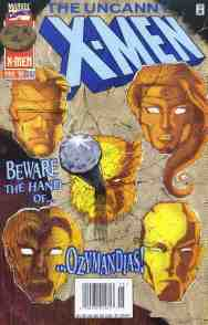 Uncanny X-Men comic book cover #332