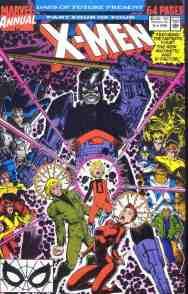 Uncanny X-Men comic book cover Annual #14