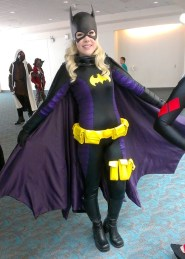 Batgirl Sexy Cosplay at San Diego Comic-Con 2013